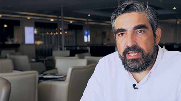 Panos Moraitis, founder and director of RCI, now locked in Greek prison
